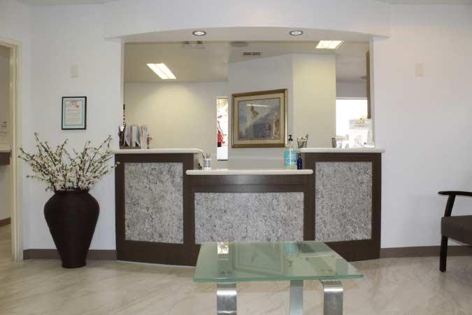 Smiles of La Mesa office reception picture