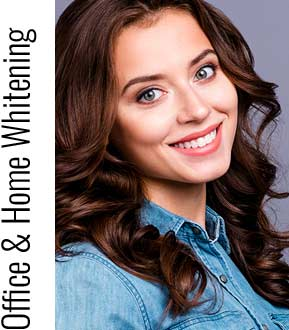 Office Whitening and Home Whitening